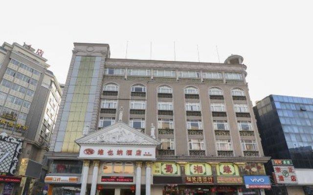 Отель Vienna Hotel Zhongshan Bus Station Китай, Чжуншань - отзывы, цены и фото номеров - забронировать отель Vienna Hotel Zhongshan Bus Station онлайн вид на фасад
