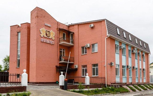 Гостиница Боярд в Уссурийске 8 отзывов об отеле, цены и фото номеров - забронировать гостиницу Боярд онлайн Уссурийск вид на фасад