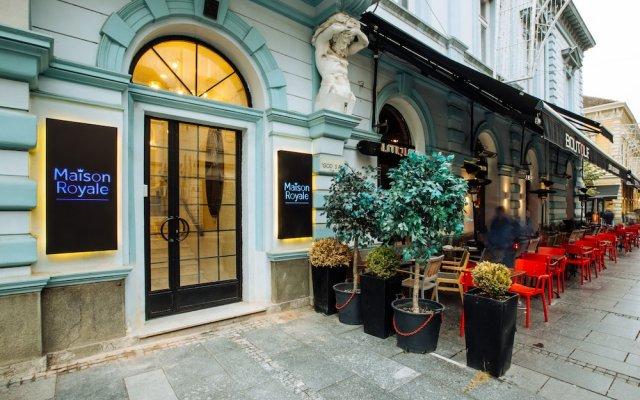 Отель Maison Royale Сербия, Белград - отзывы, цены и фото номеров - забронировать отель Maison Royale онлайн вид на фасад