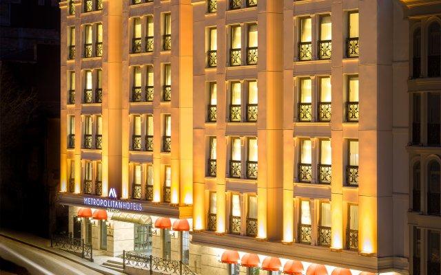 Отель Metropolitan Hotels Taksim вид на фасад