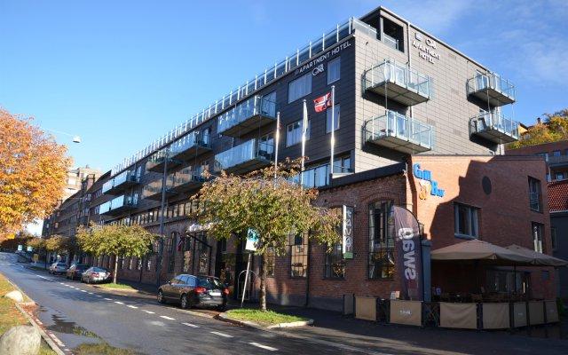 Отель Best Western Kampen Hotell вид на фасад