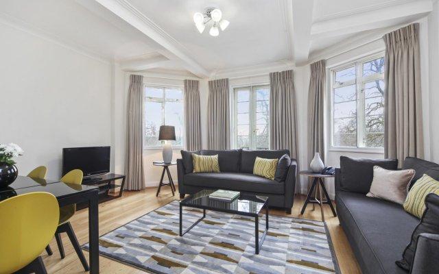 Апартаменты Fountain House Apartments Лондон комната для гостей