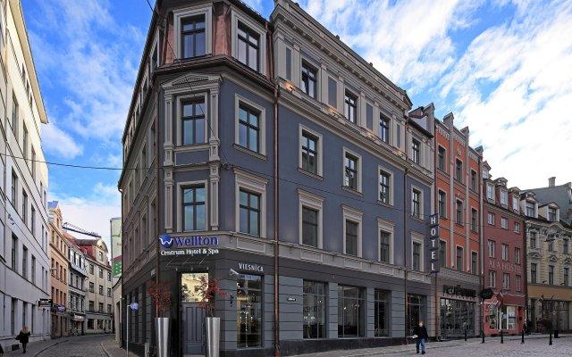 Wellton Centrum Hotel & SPA Рига вид на фасад