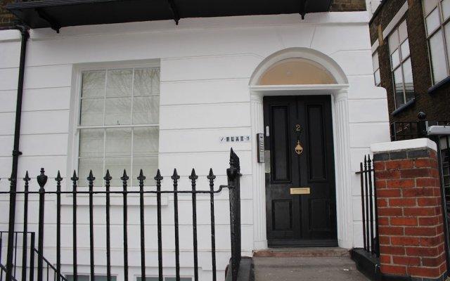 Апартаменты Angel Apartments- Islington Лондон вид на фасад
