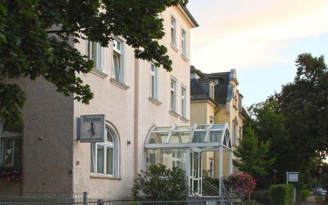 Отель Pension am Großen Garten Германия, Дрезден - 1 отзыв об отеле, цены и фото номеров - забронировать отель Pension am Großen Garten онлайн вид на фасад