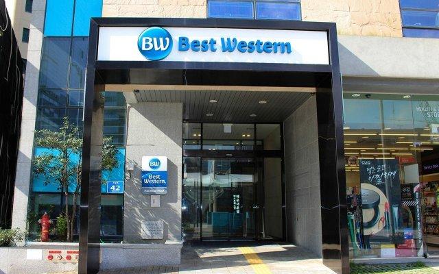 Отель Best Western Haeundae вид на фасад