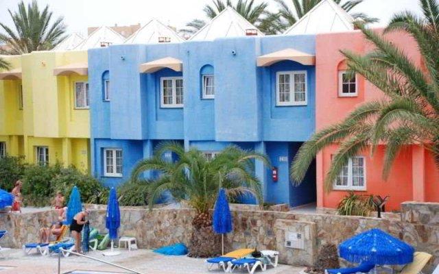 Отель Villas Stella Paradise Морро Жабле вид на фасад