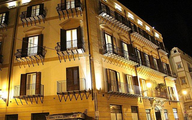 Hotel Palazzo Sitano вид на фасад