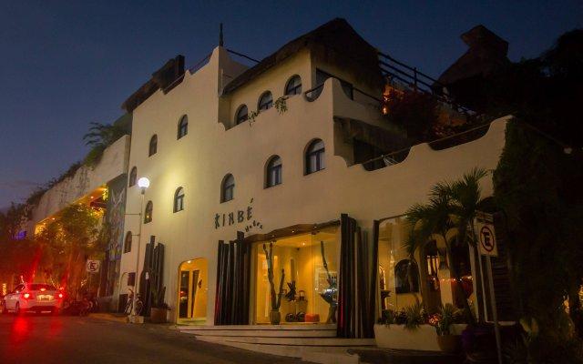 Отель Kinbe Deluxe Boutique Плая-дель-Кармен вид на фасад