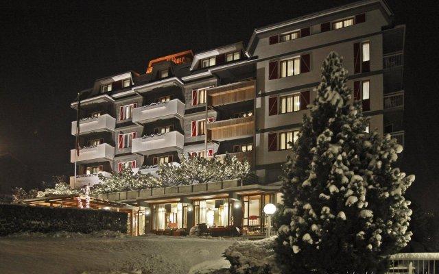 Hotel Tremoggia Киеза-ин-Вальмаленко вид на фасад
