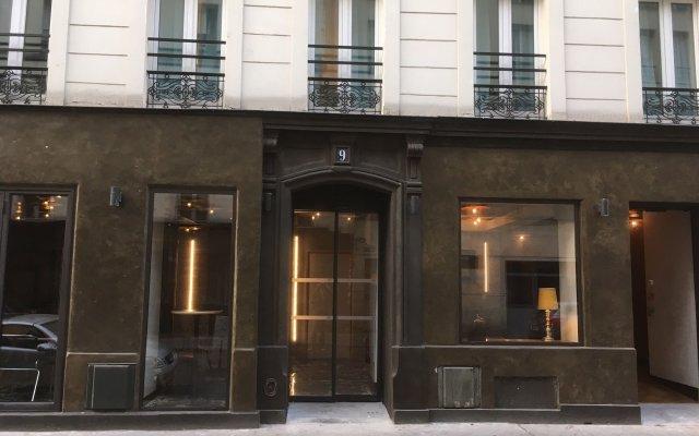 Отель Villa Bellagio Paris вид на фасад