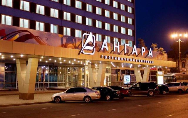 Ангара Отель Иркутск вид на фасад