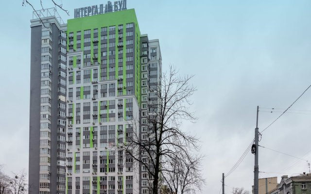 Гостиница CityApartments Lukianivska вид на фасад