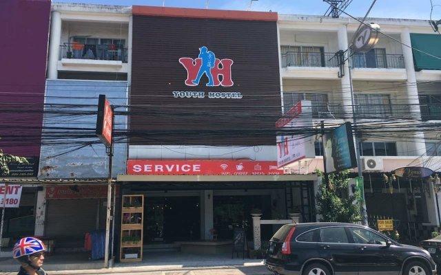 Qing lian Youth Hostel&Cafe вид на фасад