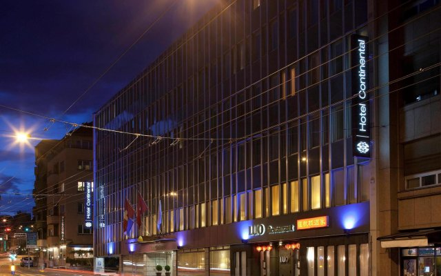 Mgallery Hotel Continental Zurich вид на фасад