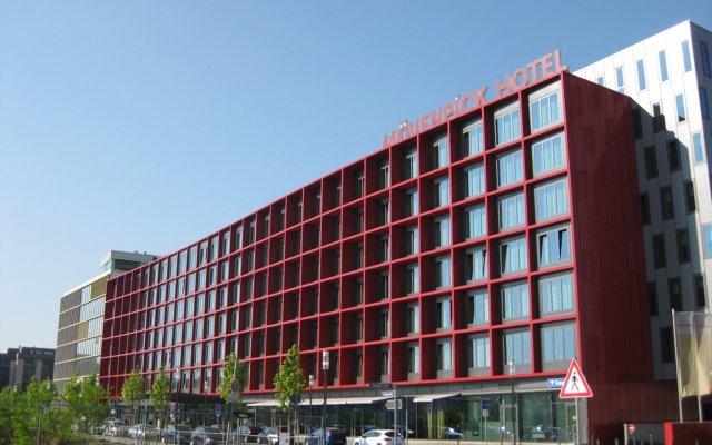 Movenpick Hotel Frankfurt City вид на фасад