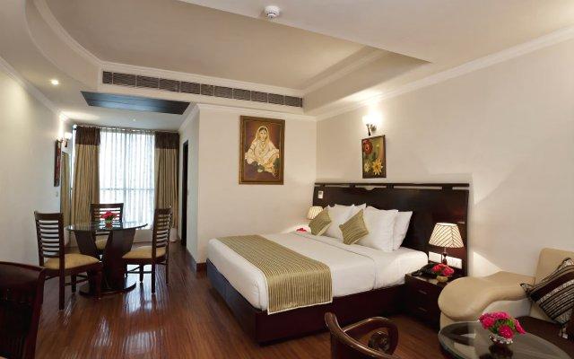 Отель Saptagiri Индия, Нью-Дели - отзывы, цены и фото номеров - забронировать отель Saptagiri онлайн комната для гостей