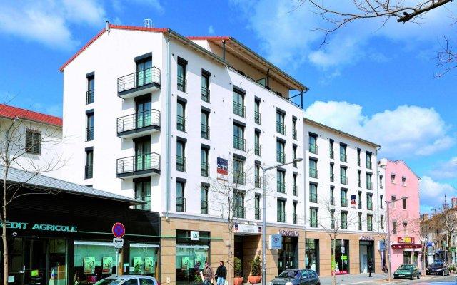 Отель Appart'City Confort Lyon Vaise вид на фасад