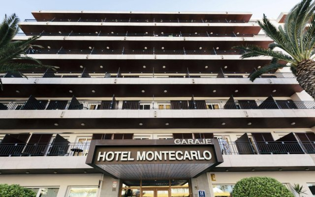 Отель Montecarlo Испания, Курорт Росес - 1 отзыв об отеле, цены и фото номеров - забронировать отель Montecarlo онлайн вид на фасад