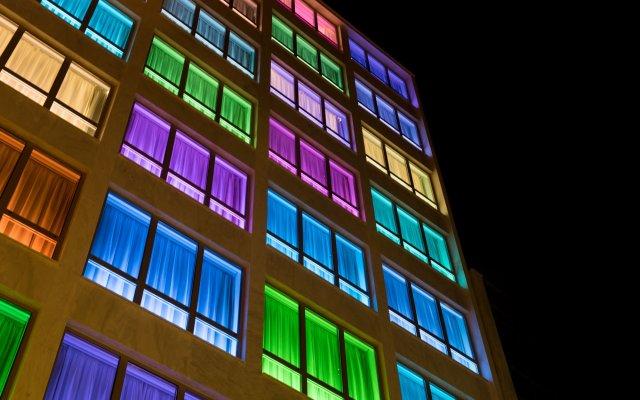 Kubic Athens Smart Hotel вид на фасад