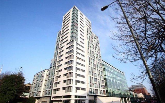 Отель Glasgow Central Skyline Apartment Великобритания, Глазго - отзывы, цены и фото номеров - забронировать отель Glasgow Central Skyline Apartment онлайн вид на фасад