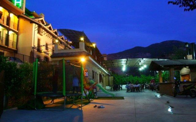 Hotel Rural Huerta Del Laurel вид на фасад