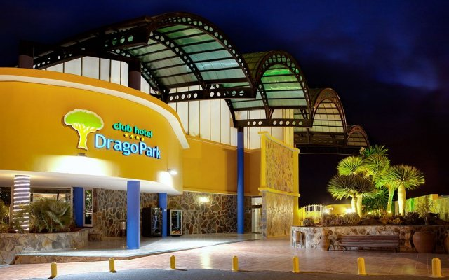 Club Drago Park Hotel вид на фасад