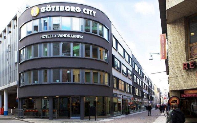STF Göteborg City Hotel вид на фасад