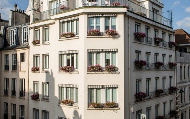 Отель Parc Saint Severin Париж вид на фасад