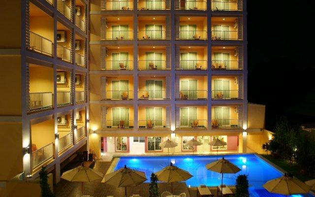Отель Best Bella Pattaya Таиланд, Паттайя - 4 отзыва об отеле, цены и фото номеров - забронировать отель Best Bella Pattaya онлайн вид на фасад