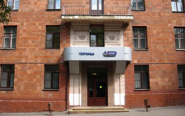 Алтай Эконом Отель вид на фасад