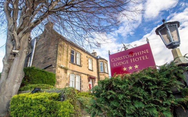 Отель Corstorphine House Hotel Великобритания, Эдинбург - отзывы, цены и фото номеров - забронировать отель Corstorphine House Hotel онлайн вид на фасад