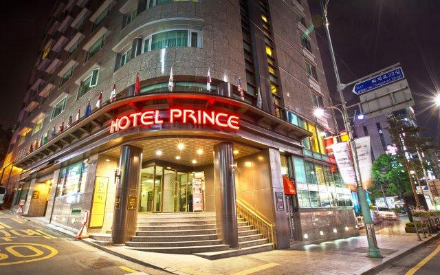 Hotel Prince Seoul вид на фасад