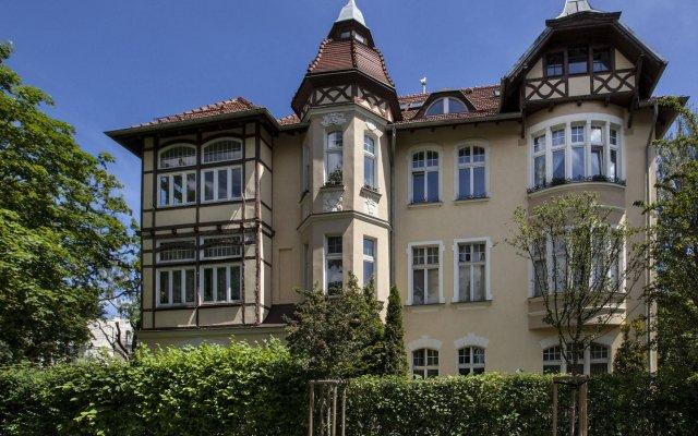 Апартаменты RJ Apartments Westerplatte Сопот вид на фасад