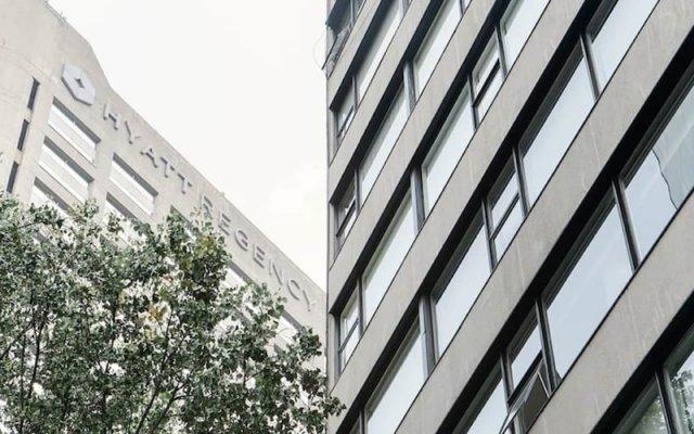 Отель First Class Apartmet by Mr.W Мехико вид на фасад
