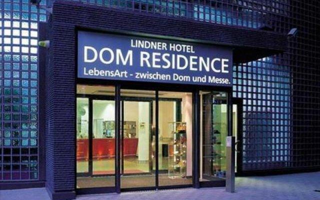Отель Lindner Hotel Dom Residence Германия, Кёльн - 8 отзывов об отеле, цены и фото номеров - забронировать отель Lindner Hotel Dom Residence онлайн вид на фасад