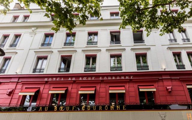 Hotel De Paris Париж вид на фасад