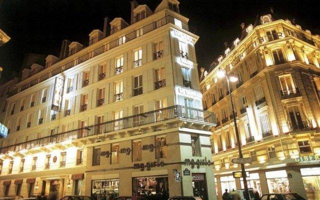 Отель Belloy St Germain Париж вид на фасад