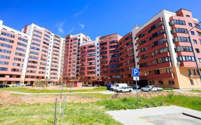 Апартаменты Gems Apartments Минск вид на фасад