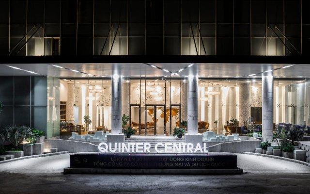 Отель Quinter Central Nha Trang Вьетнам, Нячанг - отзывы, цены и фото номеров - забронировать отель Quinter Central Nha Trang онлайн вид на фасад