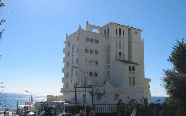 Отель Apartamentos Turísticos Sunny Beach вид на фасад