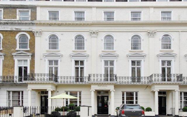 Отель Shaftesbury Hyde Park International Лондон вид на фасад