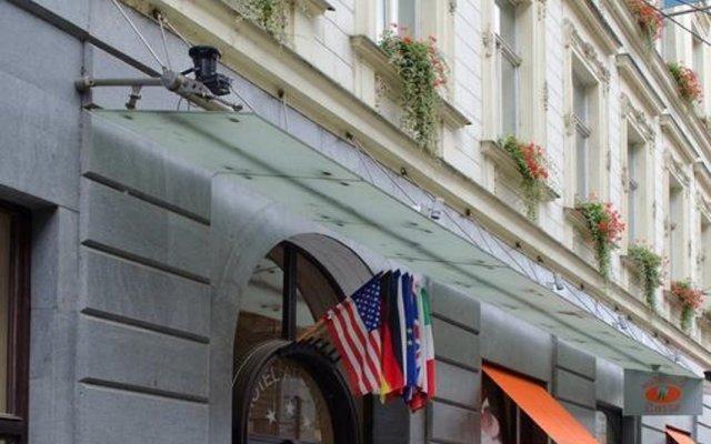 Отель Atlantic Hotel Чехия, Прага - 11 отзывов об отеле, цены и фото номеров - забронировать отель Atlantic Hotel онлайн вид на фасад