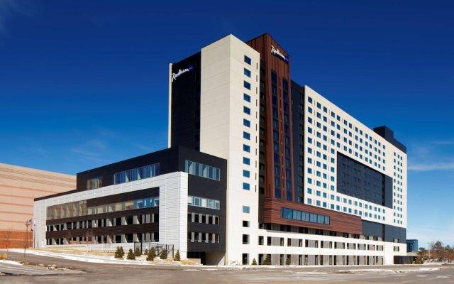 Отель Radisson Blu Mall of America США, Блумингтон - отзывы, цены и фото номеров - забронировать отель Radisson Blu Mall of America онлайн вид на фасад