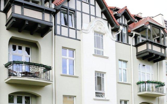 Отель Apartamenty Mój Sopot - Parkowa Art Сопот вид на фасад