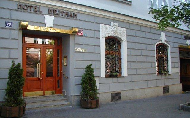 Hotel Hejtman вид на фасад