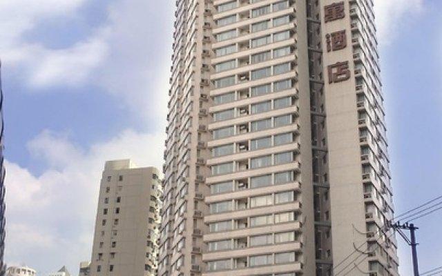 Отель Rayfont Hongqiao Hotel & Apartment Shanghai Китай, Шанхай - 1 отзыв об отеле, цены и фото номеров - забронировать отель Rayfont Hongqiao Hotel & Apartment Shanghai онлайн вид на фасад