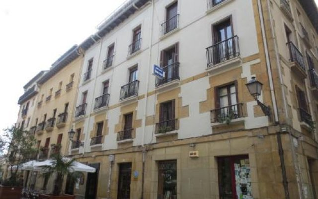 Отель Hospedaje Gurtxu вид на фасад