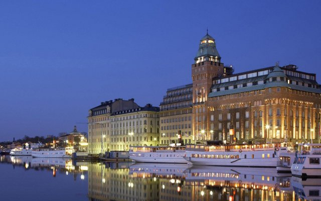 Отель Radisson Blu Strand Стокгольм вид на фасад