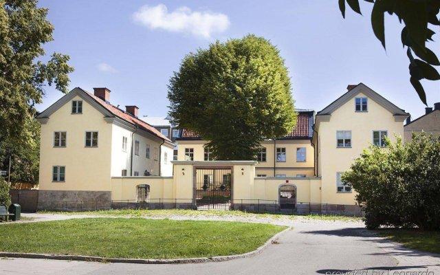 Отель Hellstens Malmgård вид на фасад